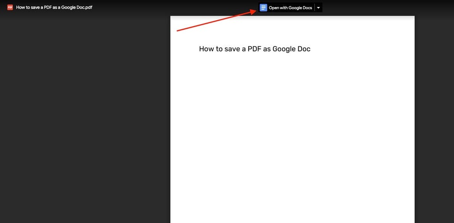 open pdf in google docs