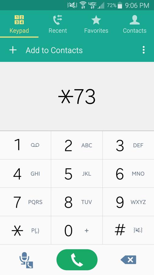 Disable Call Forwarding Verizon