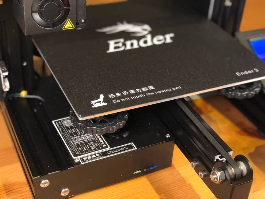 Ender 3 heated bed