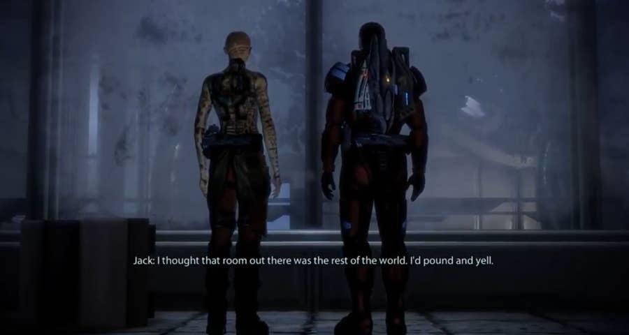 Mass Effect 2 gameplay shot