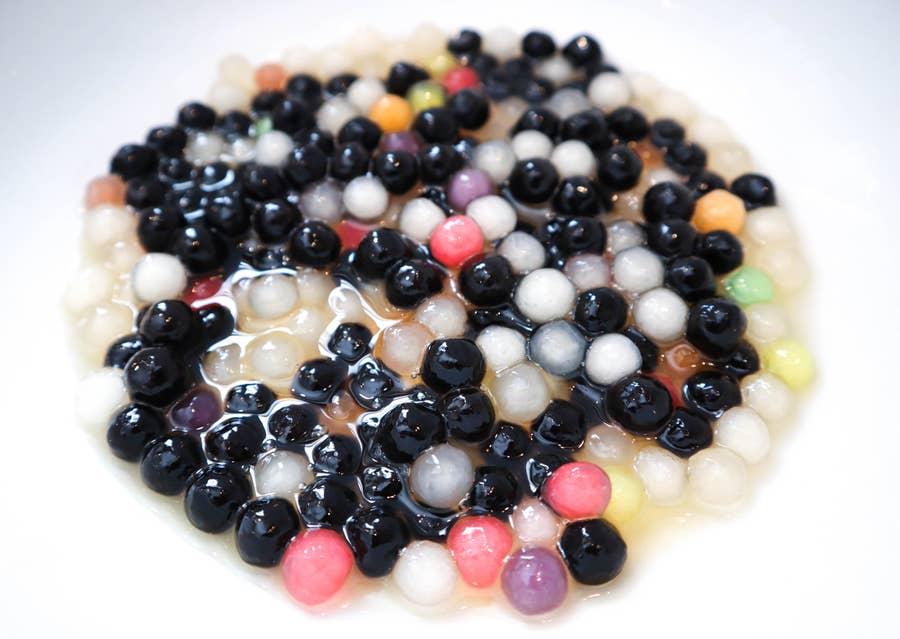 boil tapioca pearls boba tea