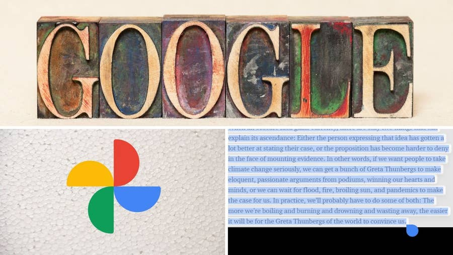 Use Google Photos to Capture Text from an Image!