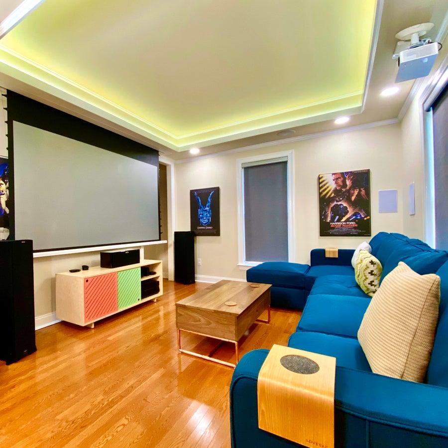DIY media room