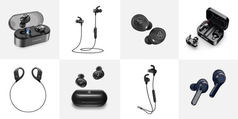 different kinds of headphones