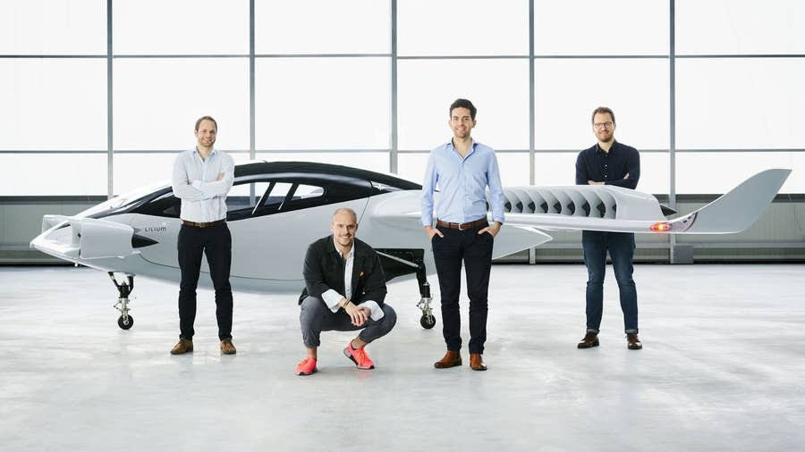 Lilium Jet taxi drone