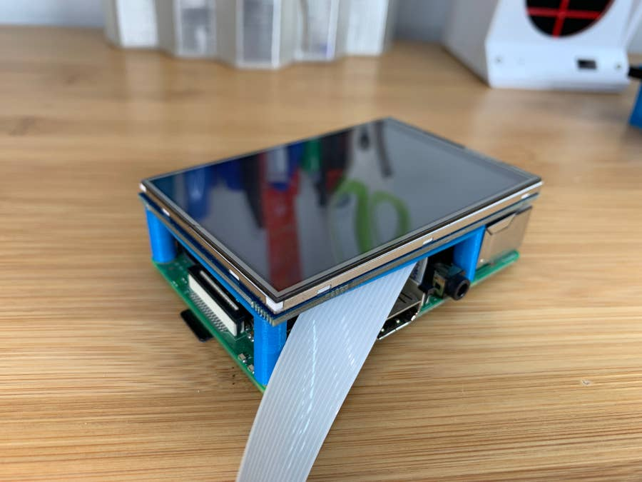 Connecting the touchscreen to the pi