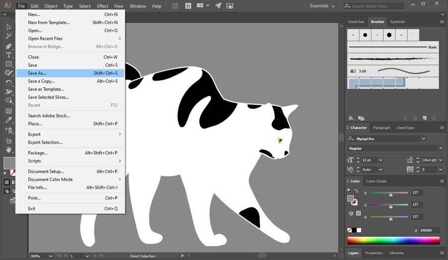 Create An SVG File