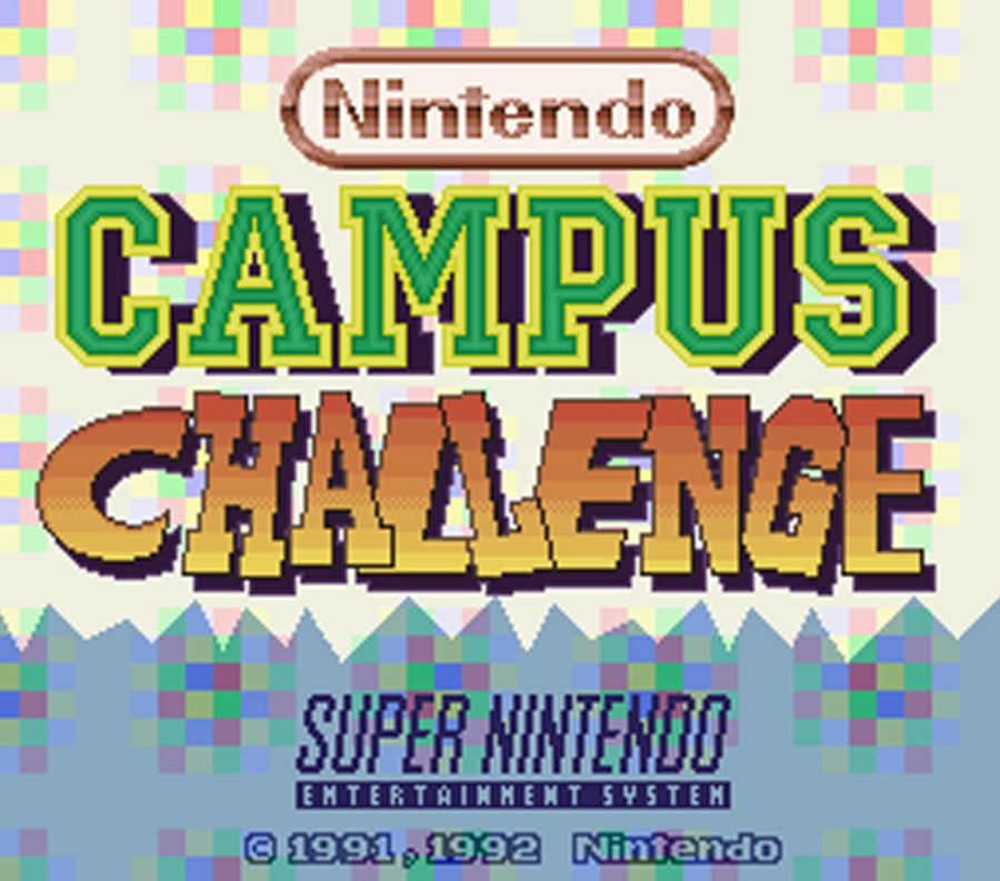 Nintendo Campus Challenge