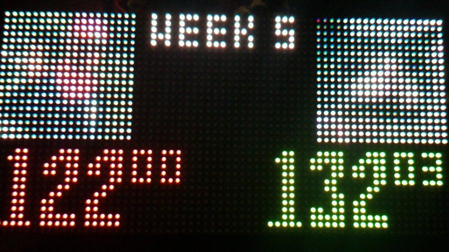 Fantasy Football Raspberry Pi Scoreboard