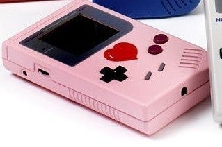 Pink Heart Game Boy