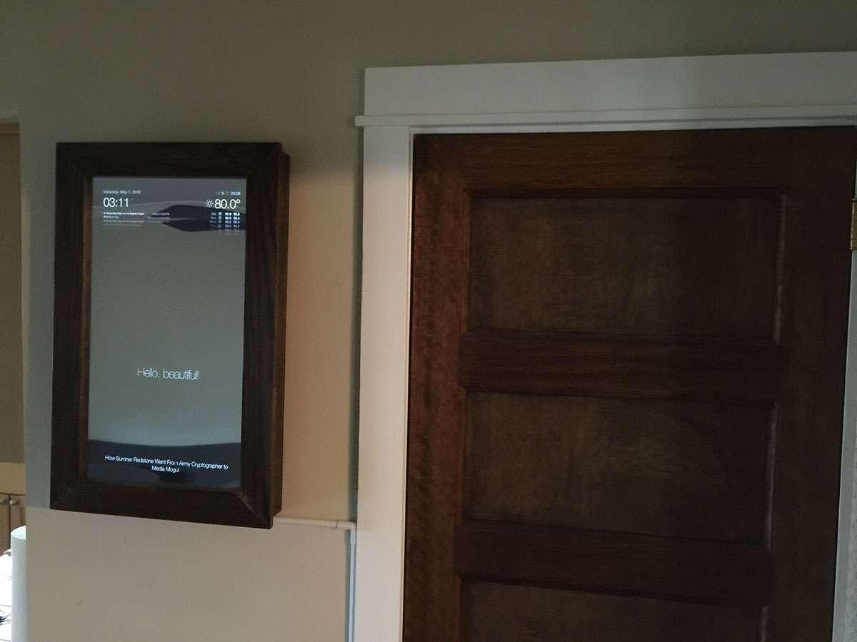 DIY Voice-Controlled Raspberry Pi Smart Mirror with Jasper - howchoo
