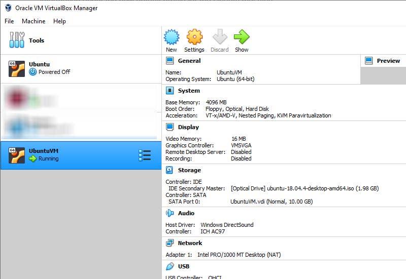 Install Ubuntu on Virtual Machine