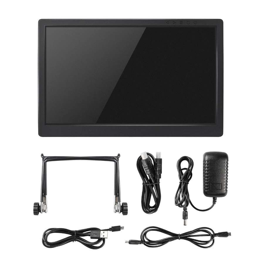 SunFounder 13.3-inch display with accessories