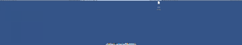 Remove multiple menu bars and docks in OS X Mavericks