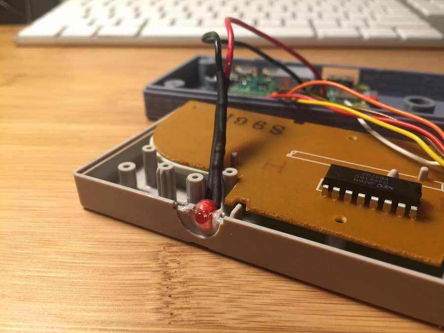 Gamepad Zero power LED circuit