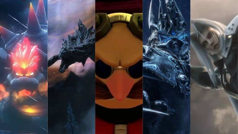 The Coolest Video Game Villains