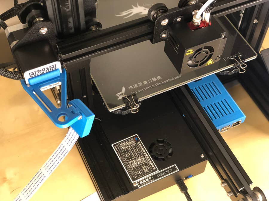 All OctoPrint components mounted
