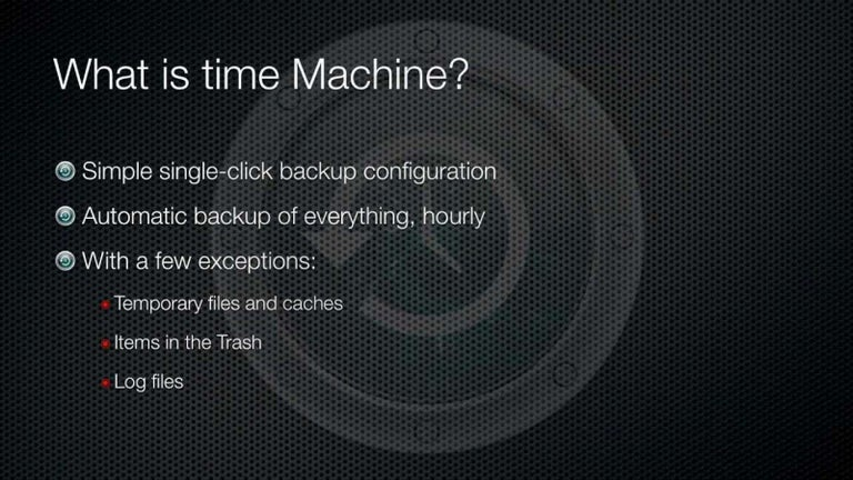 Browse for Individual Files in a Time Machine Backup