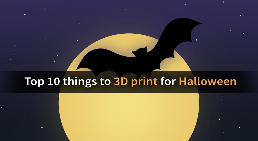 [2020] Top 10 Halloween Things to 3D Print