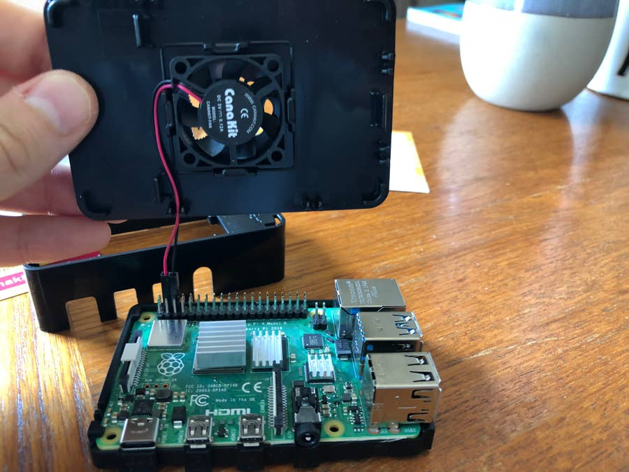 Canakit Raspberry Pi 4 Installation