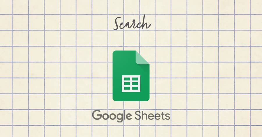 Search in Google Sheets
