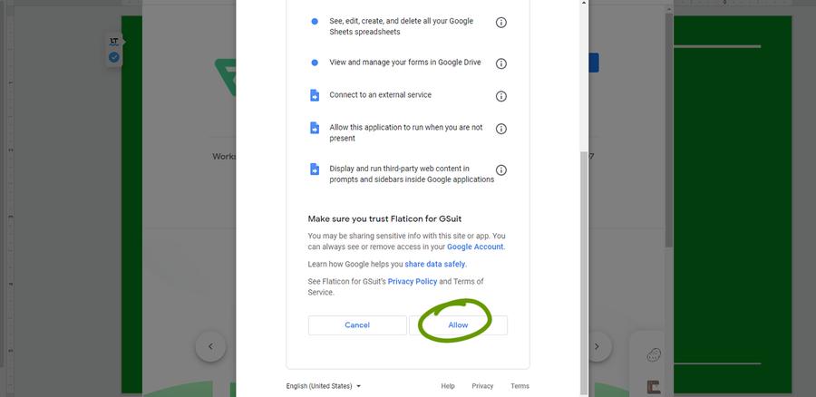 install addon google slides
