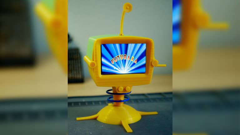 Futurama What-If Machine Raspberry Pi