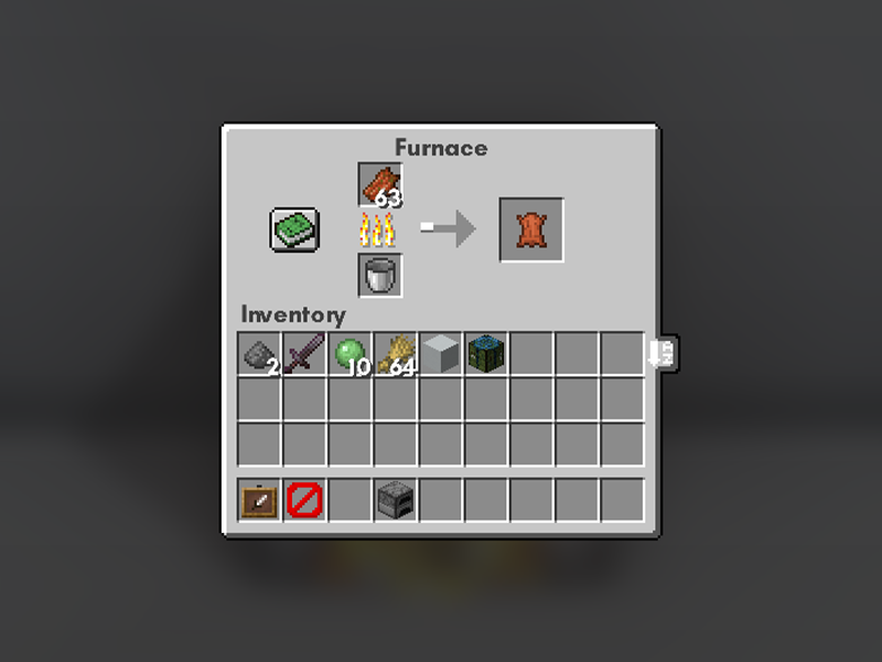 just another rotten flesh to leather forge mod minecraft