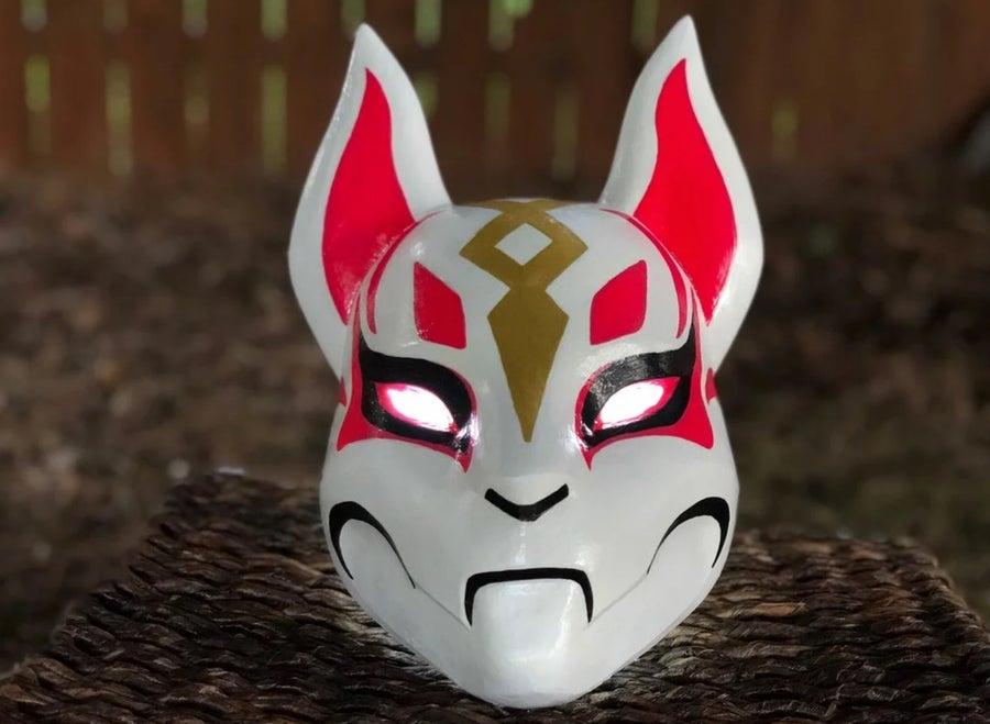 Kitsune 3D printed mask