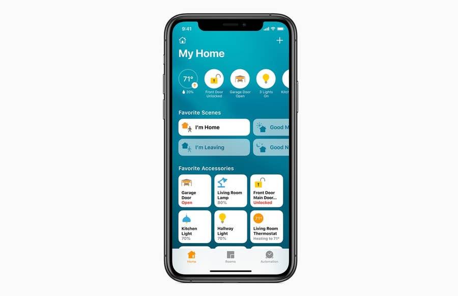 Smart Home iOS 14
