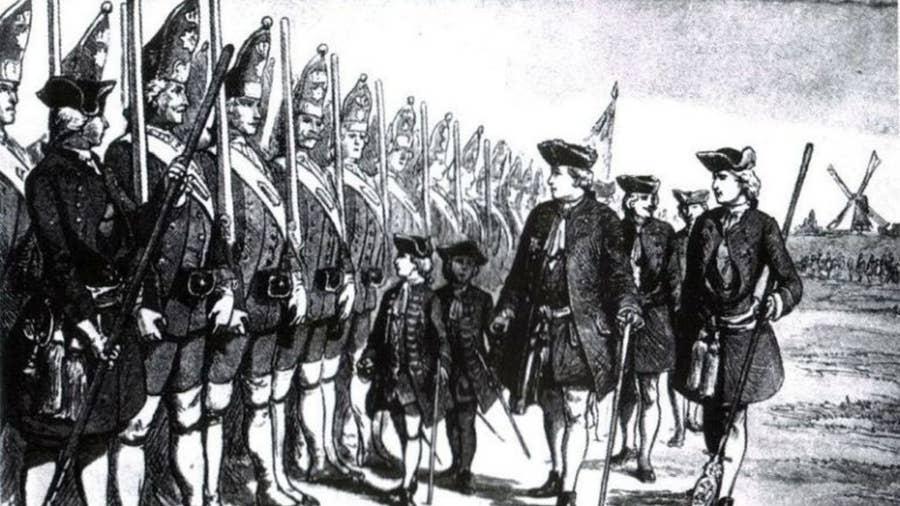 The Prussian Giant Guard of Postdam