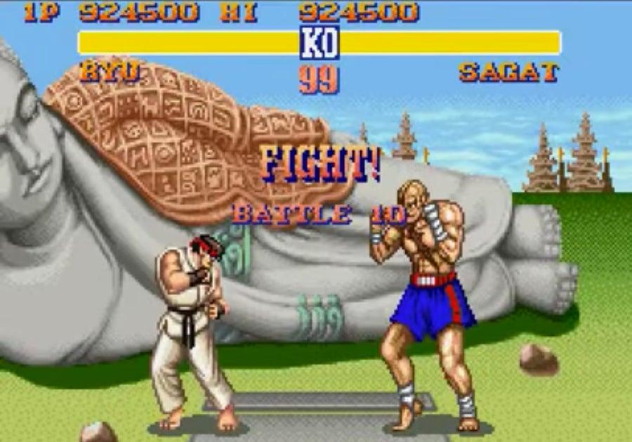 Street Fighter 2 gameplay