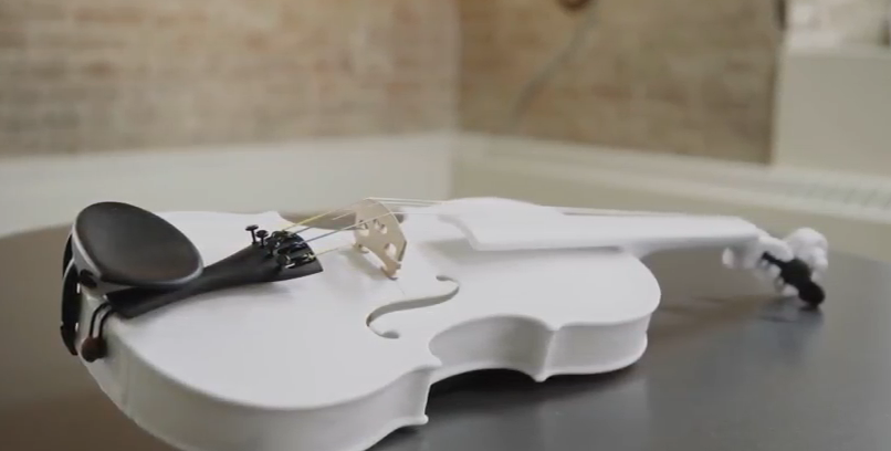 3D printed at-home violin