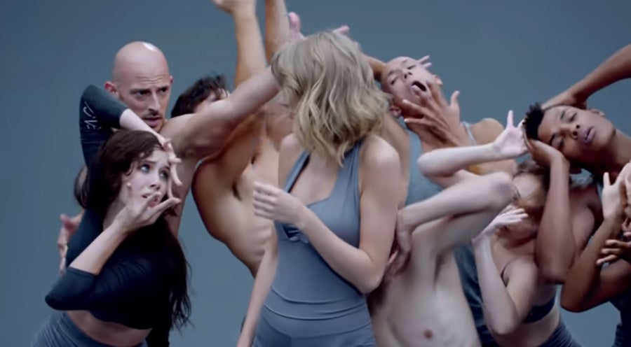 Shake It Off video still