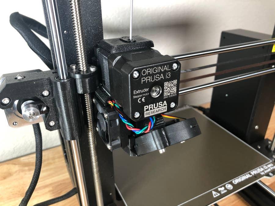 Prusa i3 MK3S extruder and hotend