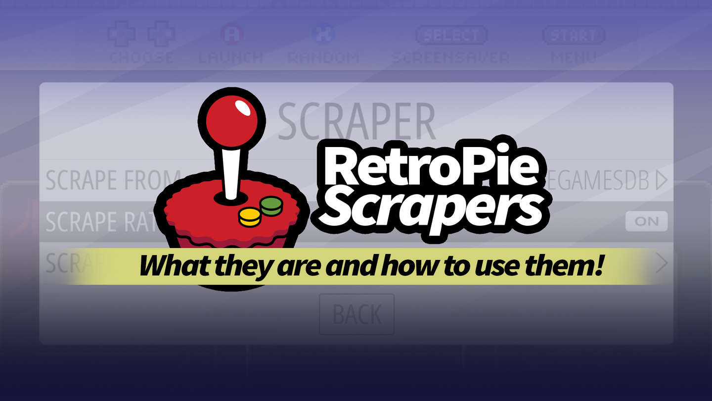 RetroPie scrapers