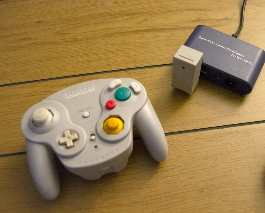 GameCube to PC adapter