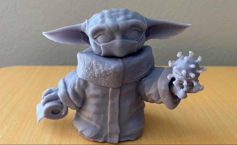 Covid-19 Baby Yoda 3D Print
