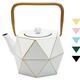 Tea Kettle with a Stainless Steel Infuser