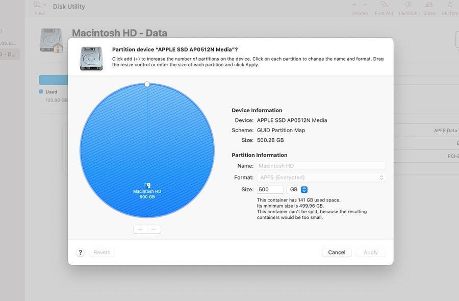 Partition Mac Hard Drive